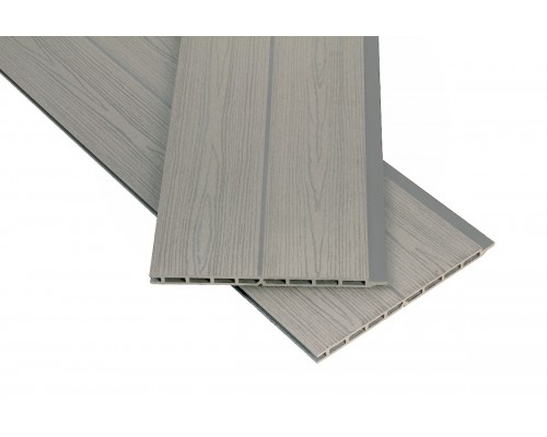 Фасадная панельPolymer&Wood цвет Grey