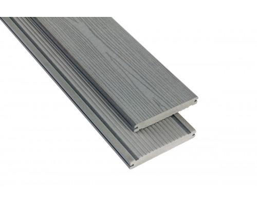 Террасная доскаPolymer&Wood серия Massive цвет Grey