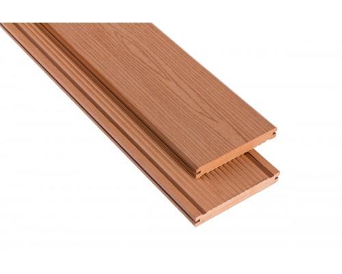 Террасная доскаPolymer&Wood серия Massive цвет Merbau