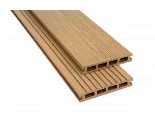 Террасная доскаPolymer&Wood серия Privat цвет Oak