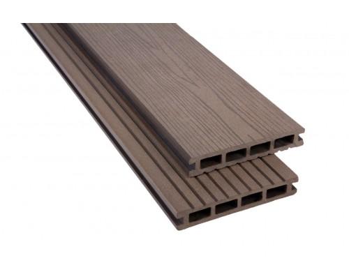 Террасная доскаPolymer&Wood серия Premium цвет Wenge