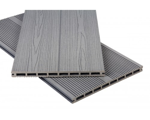 Террасная доскаPolymer&Wood серия Privat цвет Grey