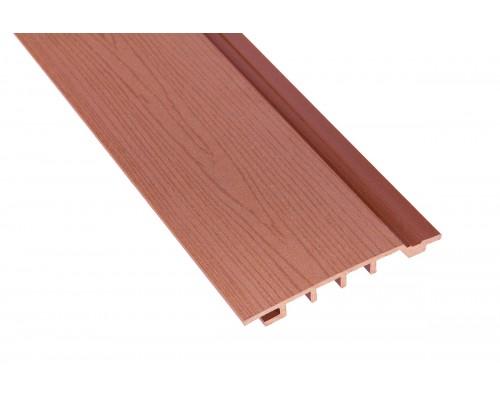 Фасадная доскаPolymer&Wood тип Сайдинг цвет Merbau