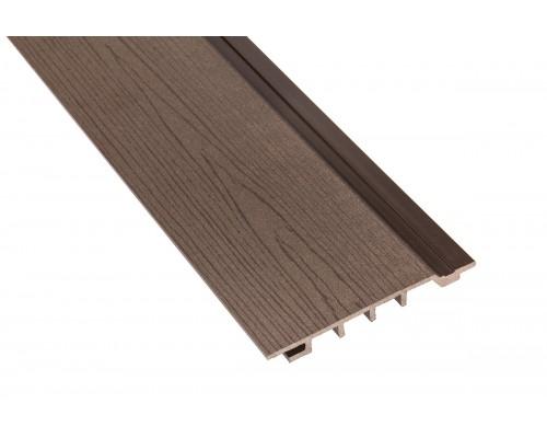 Фасадная доскаPolymer&Wood тип Сайдинг цвет Wenge
