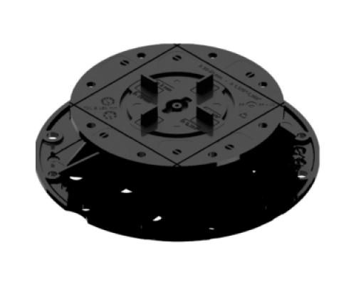 Регулируемая опора для фальшпола H 37-50 мм