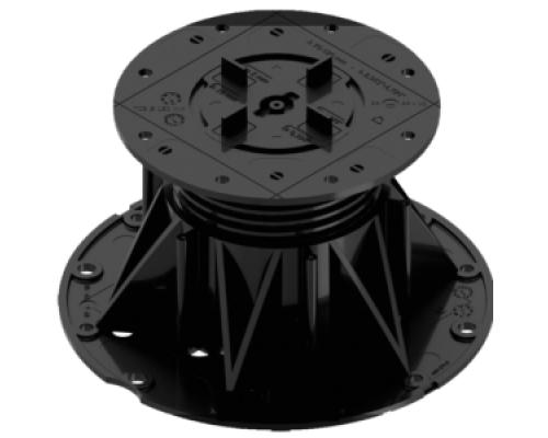 Регулируемая опора для фальшпола H 75-125 мм