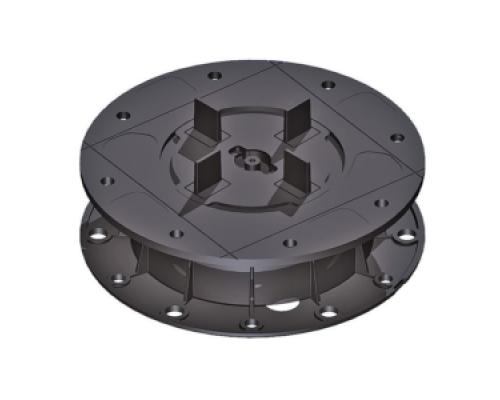 Регулируемая опора для фальшпола H 30-37 мм