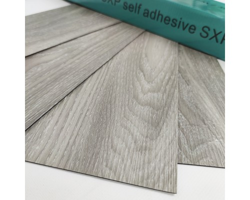 Самоклеящаяся гибкая виниловая плитка001 wood grey