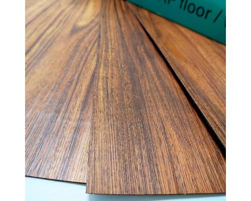 Самоклеящаяся гибкая виниловая плитка004 dark wood