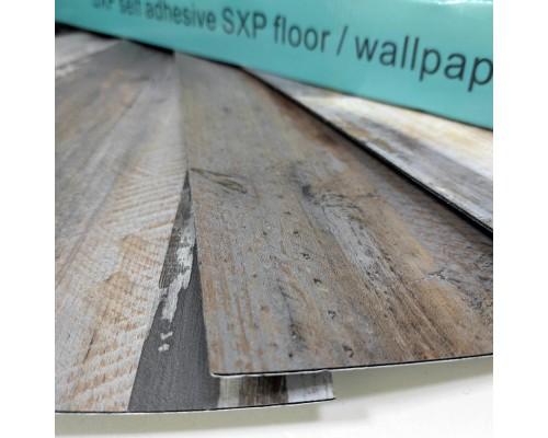 Самоклеящаяся гибкая виниловая плитка006 mozaik wood